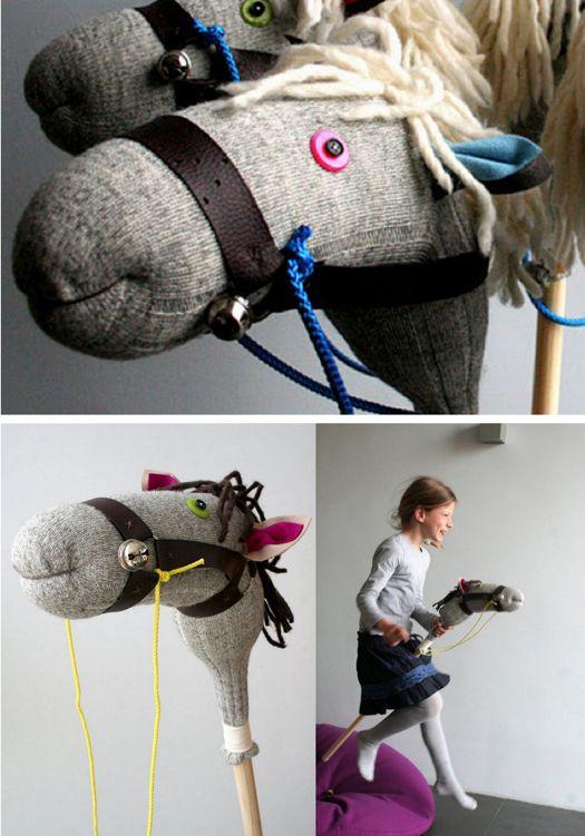 tutorial//////// caballo de juguete en light blue grey
