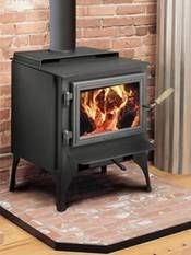 How to Make a Wood Stove Hearth With Tile