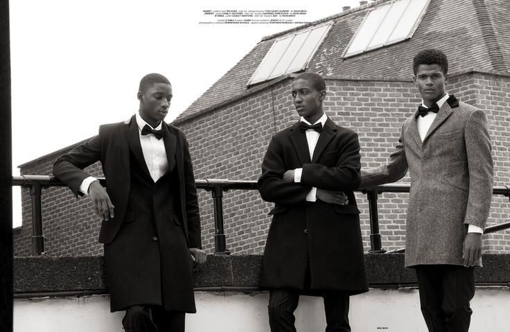 O'Shea Robertson, Harry Uzoka & Jeremy Boateng in BLOOD Photography by Hiro Kimura