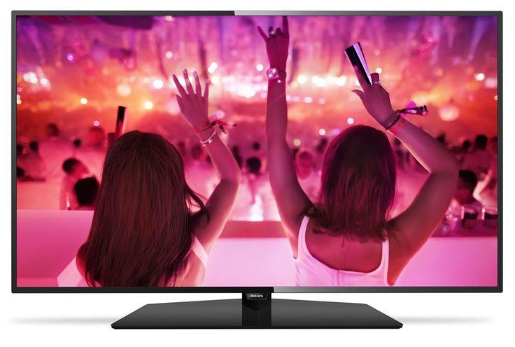 """Philips 49PFS5301  Description: Philips 49PFS5301: 49"""" Full HD TV Deze Philips 49PFS5301 Full HD Smart TV is perfect voor in jouw woonkamer! Je sluit de 49PFS5301 aan en kunt direct beginnen met het streamen van muziek films en series. Perfect contrast kleuren en scherpte op de Philips 49PFS5301 dankzij de Picture Performance Index en Micro Dimming. Bij Picture Performance Index en Micro Dimming worden alle beelden op de hoogst mogelijke beeldkwaliteit getoond. En de vormgeving is ook…"""