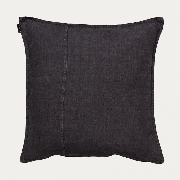 Stonewash 100% Linen Cushion These linen pillows pair very well with our collection of vintage indigo and embroidered pillows Includes Insert