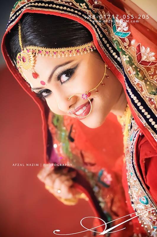 Bridal Beauty, Bengali Bride, Bride from Bangladesh