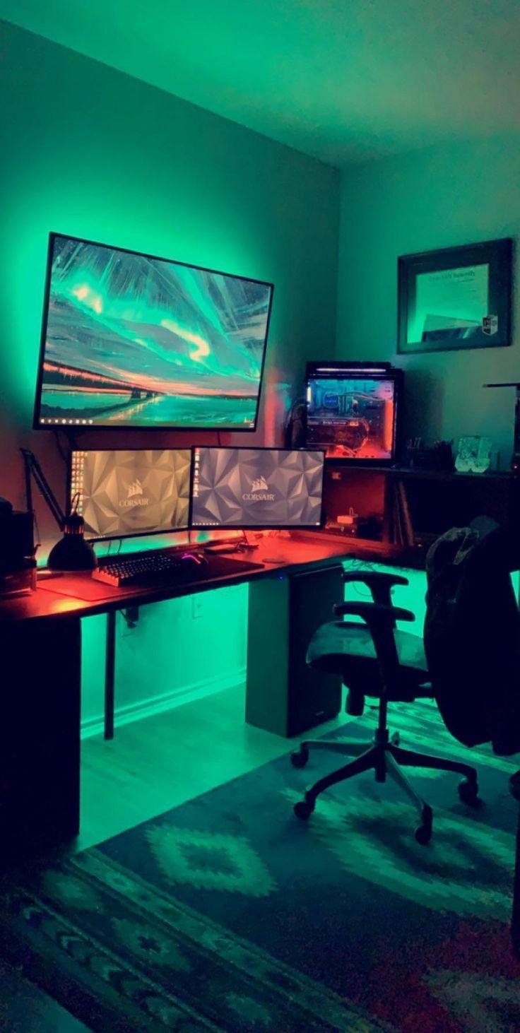 Gaming Setup 2 Person Gaming Setup Person Spielsetup Fur 2