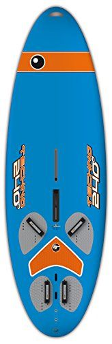 BIC Sport ACE TEC Techno Windsurfer Board, 297cm x 92cm x 235L, Blue      Full Range of Windsurfing 'Fun boards'     Legendary ACE-TEC construction: Stiff, Lightweight, Durable     Versatile, High Performance     Complete with Foot straps and Fin     4 Sizes/models to choose from