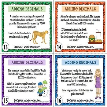 adding decimals word problems fourth grade math worksheetsexercises to practice addition and. Black Bedroom Furniture Sets. Home Design Ideas