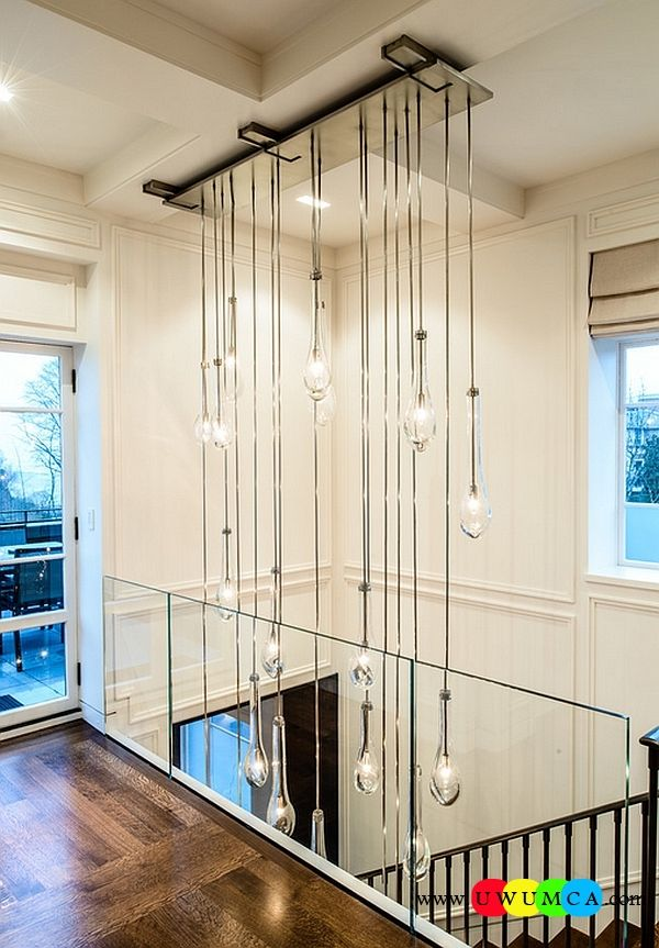 Decoration Decorating Cascading Crystal Chandeliers Bubble