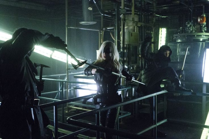 Directed by Wendey Stanzler. With Stephen Amell, Katie Cassidy, David Ramsey, Willa Holland. While Oliver tends to the Canary's wounds, he tries to get her to talk about where she came from but she refuses. However, after Oliver and Canary are attacked at the Queen mansion by a trained killer from the League of Assassins, she confesses to how she's connected with the nefarious group. Meanwhile with Moira facing multiple counts of murder and conspiracy for her part in the destruction ...