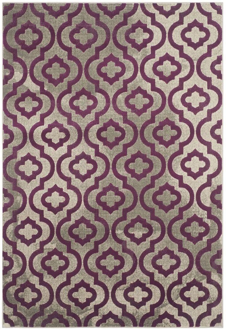 Find This Pin And More On House U0026 Home By Purplephoenix77. House Of Hampton  Krenwik Light Gray U0026 Purple Area Rug