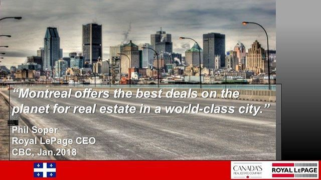 WHY PURCHASE A PROPERTY IN MONTREAL⠀ .⠀ Not only is Montreal Real Estate considered the best deal on the planet, Montreal is also considered a world class City!⠀ .⠀ Montréal is the most populous municipality in the Canadian province of Quebec. ⠀ .⠀ In 2016 the city had a population of 1,704,694. Montreal's metropolitan area had a population of 4,098,92 and a population of 1,942,044 in the urban agglomeration, with all of the municipalities on the Island of Montreal included. French is the…
