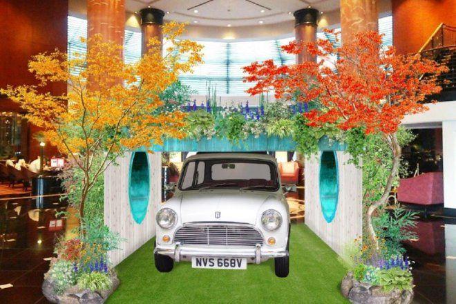 英国チェルシーフラワーショーの最高位受賞作品がウェスティンホテル東京に登場