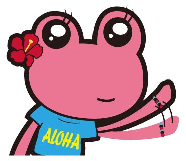 ALOHA~   https://store.line.me/stickershop/product/1020393/en