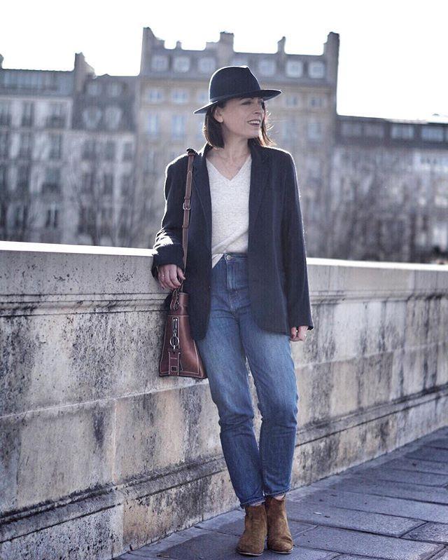 1.2.3 Paris - Violette du blog Sois belle et parle porte la veste ballerine automne-hiver 2016 #123paris #streetstyle #ootd #mode #fashion #shopping #blogueuse #blogger #blogueusemode #fashionblogger #fall #winter #automne #hiver