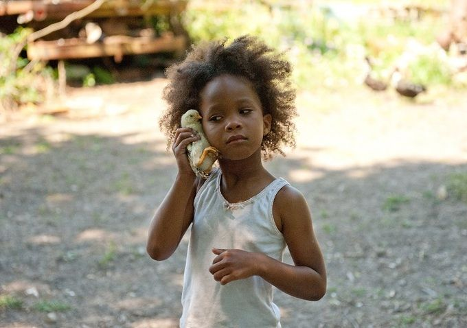 'Beasts Of The Southern Wild' -- Winner of the Sundance 2012 Grand Jury Prize as well as the Excellence in Cinematography Award, BEASTS OF THE SOUTHERN WILD is set in a forgotten but defiant bayou community cut off from the rest of the world by a sprawling levee where a six-year-old girl exists on the brink of orphanhood.: Film, Quvenzhané Wallis, Quvenzhan Wallis, Bathtubs, Movies, Barbers, Southern Wild, Academy Awards, Actresses