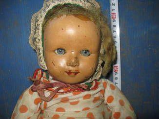 Кукла париковая опилки довоенная (6276928823) - Aukro.ua – больше чем аукцион