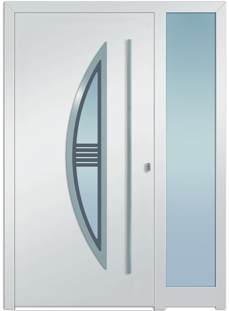 Fenster außenansicht  Die 25+ besten Haustür mit seitenteil Ideen auf Pinterest ...