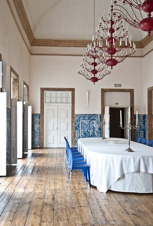 """Sneak Peek: Best of Turquoise """"Turquoise has never looked more elegant than it does at the Palacio Belmonte in Portugal."""" #sneakpeek"""