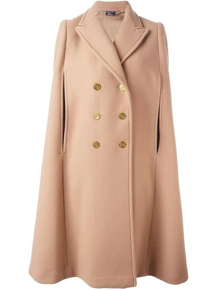 Alexander McQueen double breasted cape