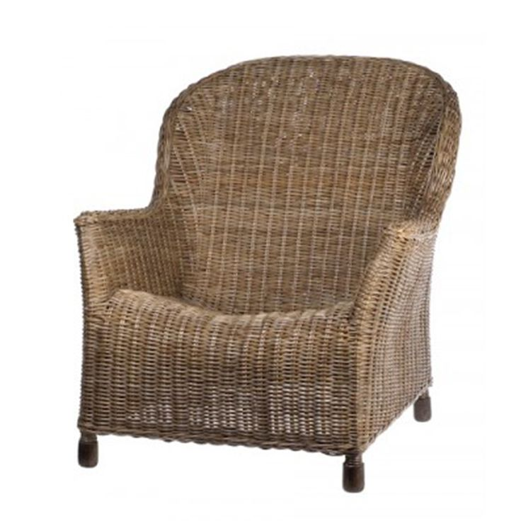 Relax in style with the Georgia Chair… made with the finest quality Rattan