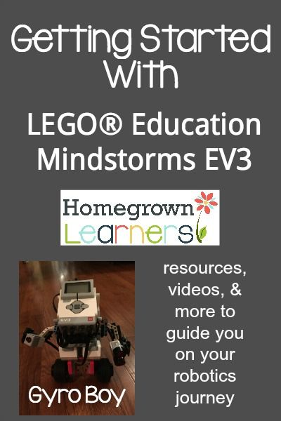Getting Started With LEGO® Education Mindstorms EV3 - Gyro Boy