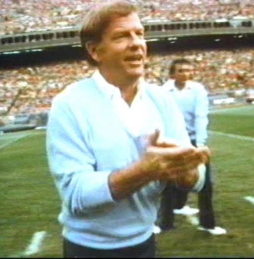 """New coach in town: ROBERT """"RED"""" MILLER became the Broncos head coach in early 1977 after previous head coach John Ralston was ousted."""