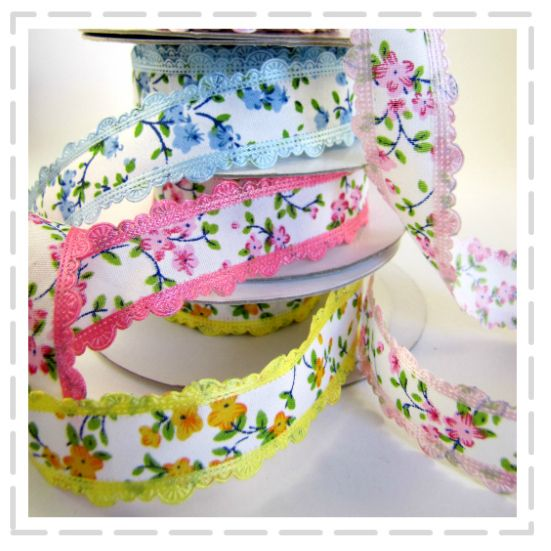 Beautiful Floral Ribbons by The Haby Goddess