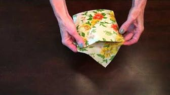 Mixed Mod Shop - YouTube Learn how to create a sandwich pocket with a beeswax wrap.