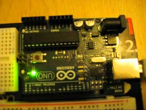 Arduino - Web server controlled LED using serial connection between the Arduino and web server