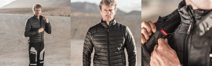 O casaco interior THERMO é composto por um revestimento térmico que faz com que seja o isolamento indicado para os dias mais frios.  #Spidi #Forro #Thermo #Liner #Motorcycle #Motociclismo
