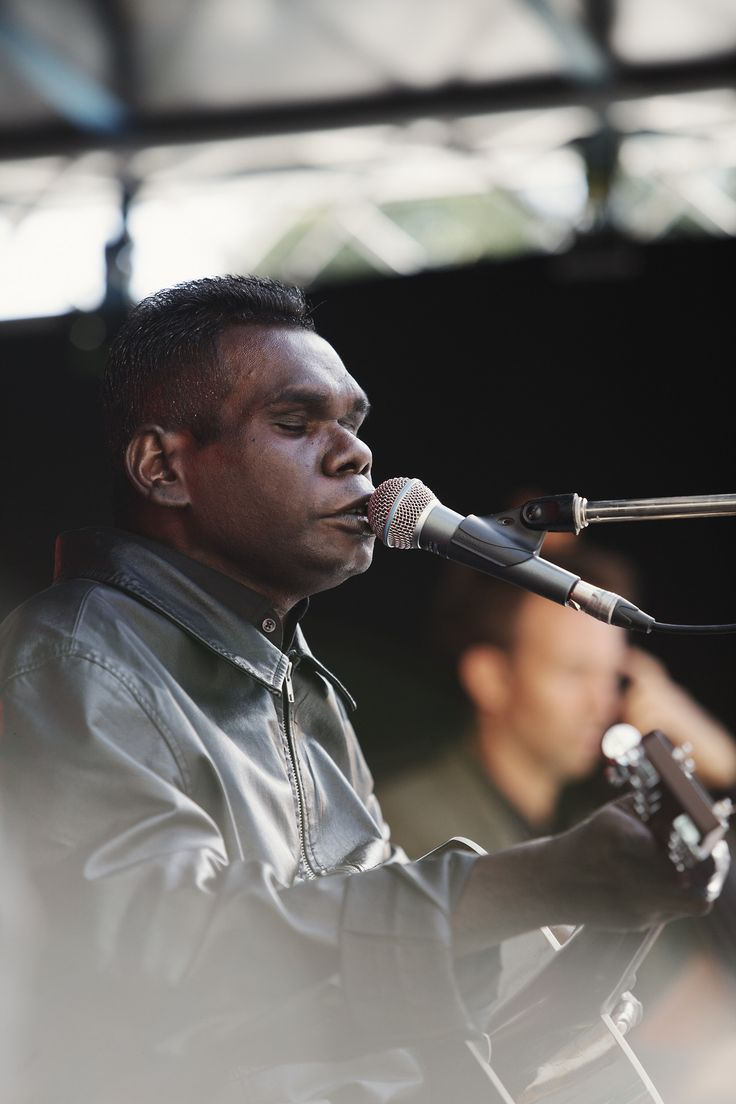 Gurrumul at The Garden Party, Southbank