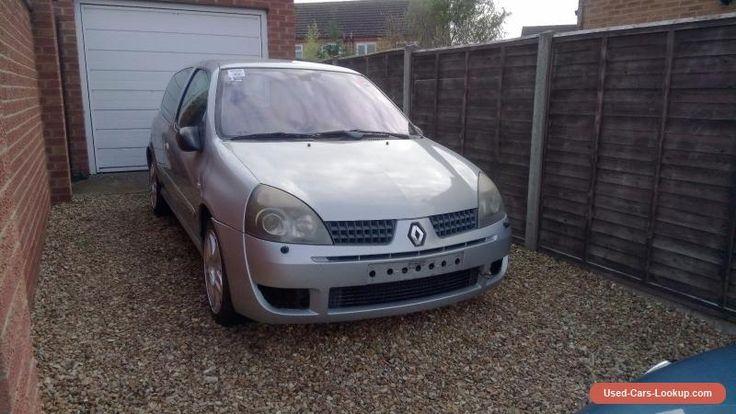 Renault Clio 172 #renault #clio #forsale #unitedkingdom
