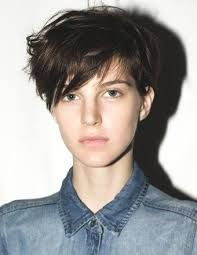 Image result for tomboy hair