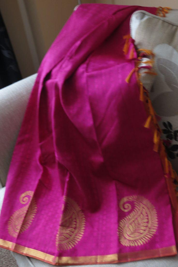 Kanchipuram silk, soft Kanchipuram silk saree, wedding spree, Party wear, Pink silk , benarasi spree