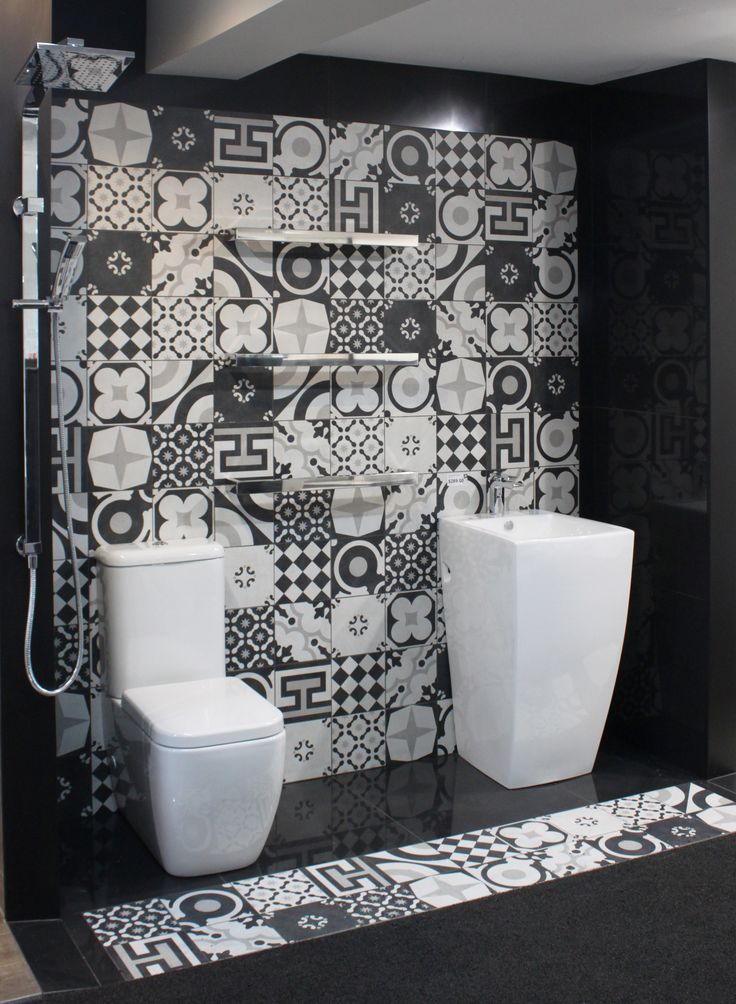 50 Best Patterned Encaustic Style Tiles The Tile Depot Images On Pinterest Tiles Bathroom