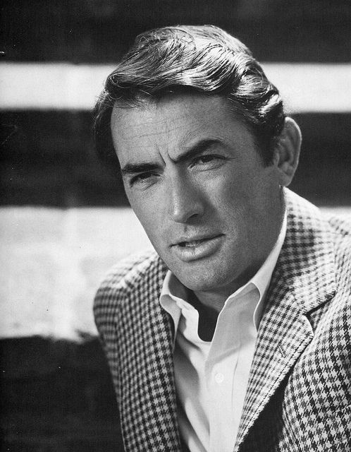 Gregory Peck by classic film scans, via Flickr