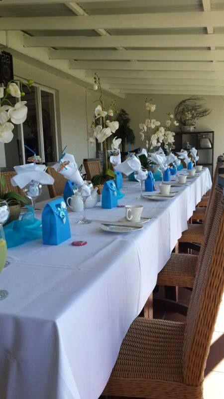 High tea table setting - 24/05/2014