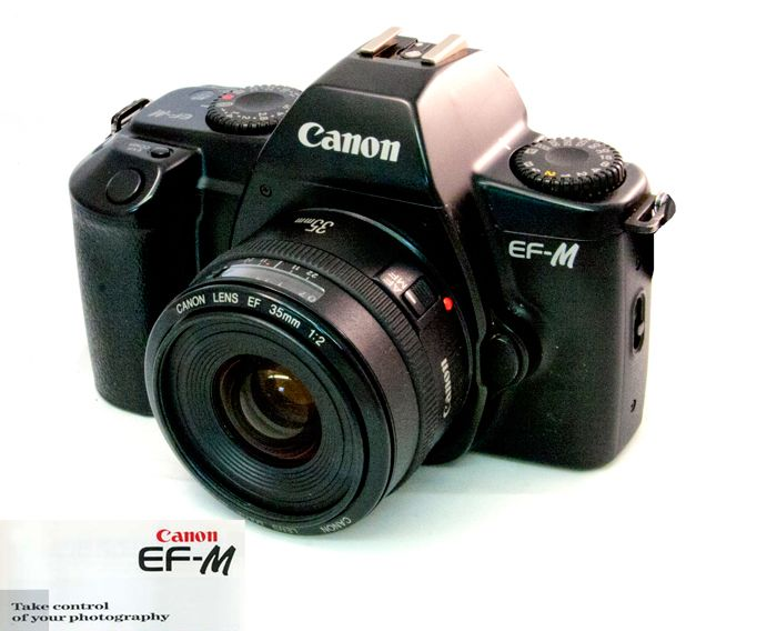 Canon EF-M - A manual focus camera that takes only Canon EOS EF lenses - Photo.net Classic Manual Cameras Forum