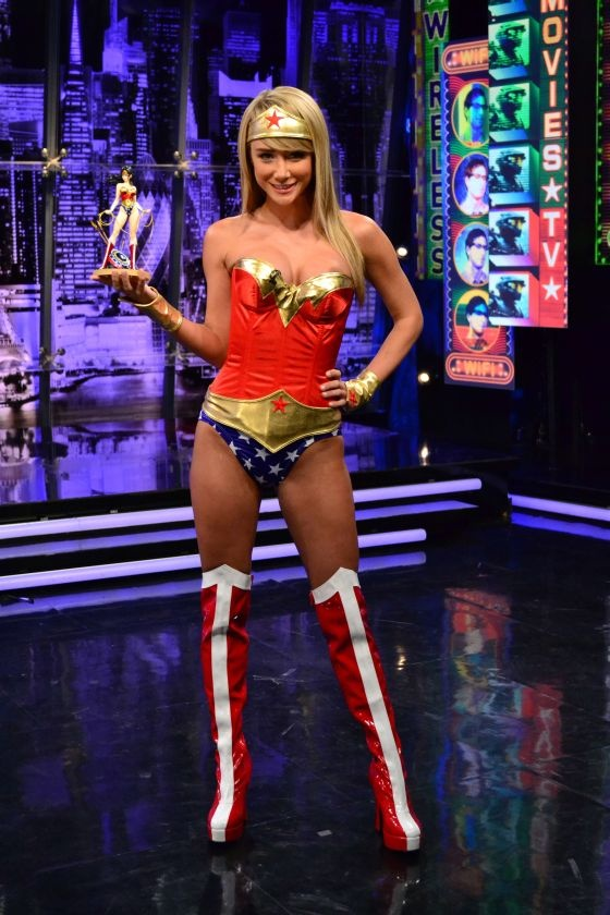 Sara Jean Underwood Wonder Woman
