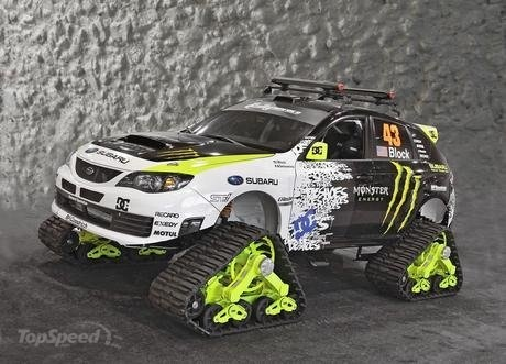 2009 Subaru WRX STI TRAX.  Nuff said.