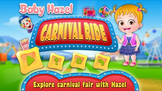 Enjoy fun-filled activities and visit attractive games stalls at Carnival Fair with Baby Hazel. Have fun!!! https://itunes.apple.com/us/app/baby-hazel-carnival-fair/id1016420563?mt=8