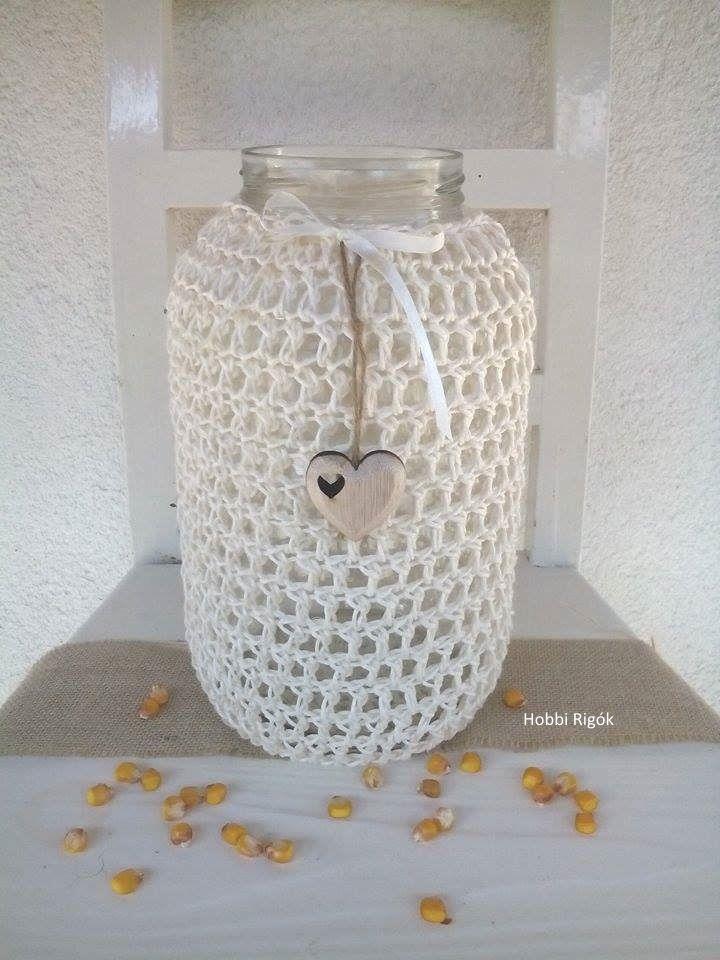 Crochet Glass bottles