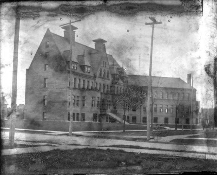 Childrens free hospital old photos historic detroit