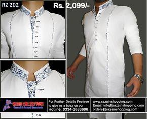 Razain Designer Shalwar Kameez Eid Design Men