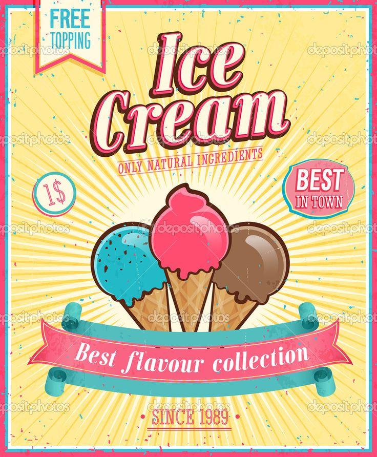 ice cream vintage - Google Search