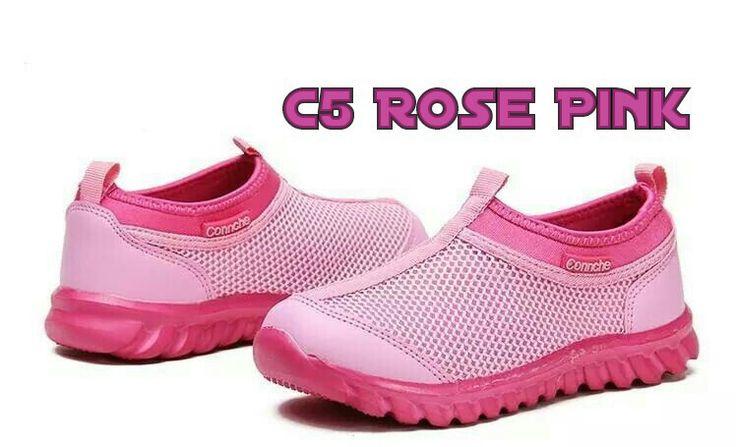 READY STOCK KIDS SNEAKERS KODE : Connche C5 Rose Pink Size 27,18 PRICE : Rp.190.000,- AVAILABLE SIZE (insole) : - Size 27 (17cm) - Size 28 (18cm)  Usia 2-3thn Insole = Panjang sol dalam Ukur panjang telapak kaki anak, beri jarak 1-1,5cm dari insole.  Material : Soft Polyester,Sol karet,ringan dan empuk.  FOR ORDER : SMS/Whatsapp 087777111986 PIN BB 766A6420 Facebook : Mayorishop  #pusatsepatubootsanak #kidssneakers #kidssportshoes #kidsshoes #runningshoes #nikeshoes #sepatuanak #sepatusport…