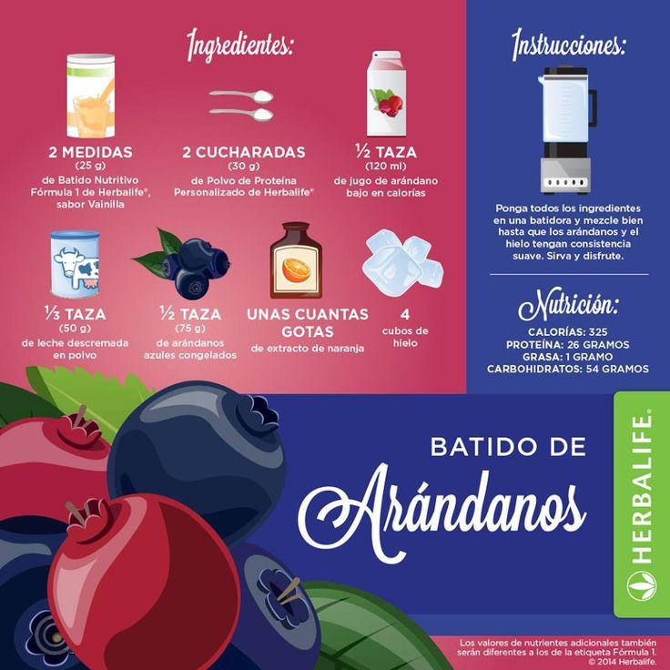 Batido de Arnadanos ...ummmm #herbalife #productos