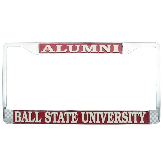 Image for CAR ACCESSORIES,LICENSE PLATE FRAME,ALUMNI