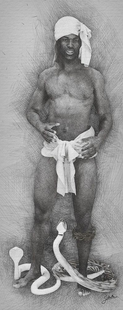 «El Faquir africano» de Joaquin Abella
