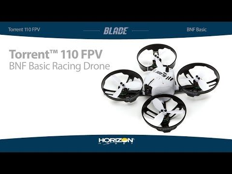 Torrent 110 FPV Racing Bind-N-Fly Basic Quadcopter Drone by Blade Helis [BLH04050] | FPV Racing - HobbyTown