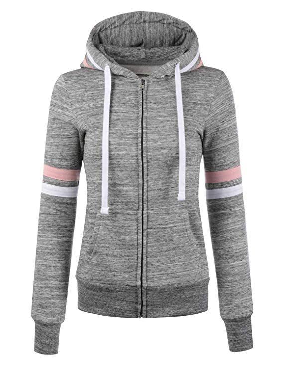 19++ Thin zip up hoodie trends