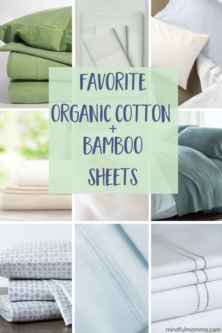 Top Natural Organic Bedding Including Bamboo Organic Sheets
